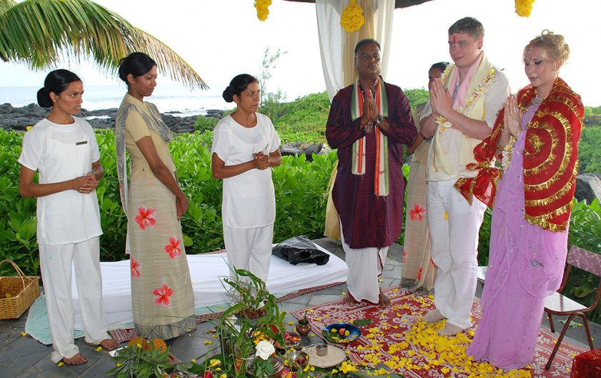 Wedding in mauritius elite voyage previous next junglespirit Images