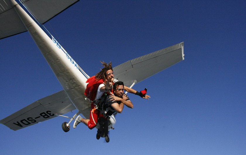 Skydive Mauritius   Elite Voyage
