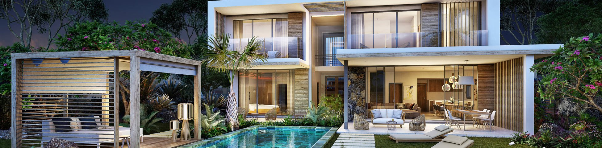 Villas in Mauritius